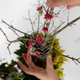 פרויקט סיום קורס שזירת פרחים מתקדמים - דורית אדרי