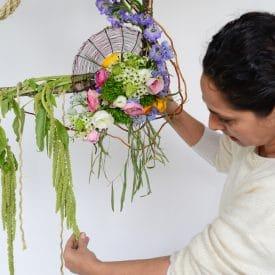 פרויקט סיום קורס שזירת פרחים מתקדמים - סיגל טל