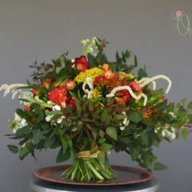 orit hertz - hand tied bouquet - final design