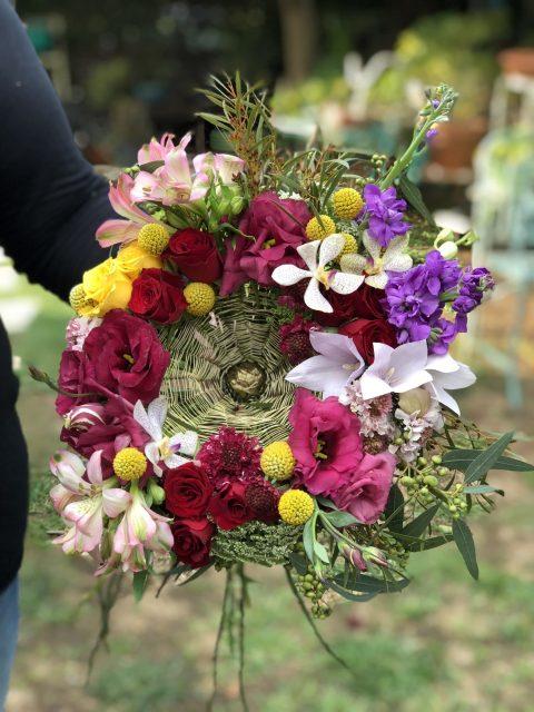 סדנת עיצוב פרחים בקונסטרוקציה