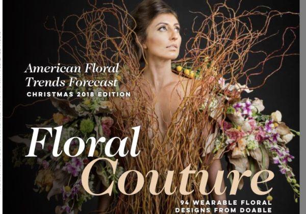 לפעמים חלומות מתגשמים – החשיפה שלי ב-  Florists Review Magazine