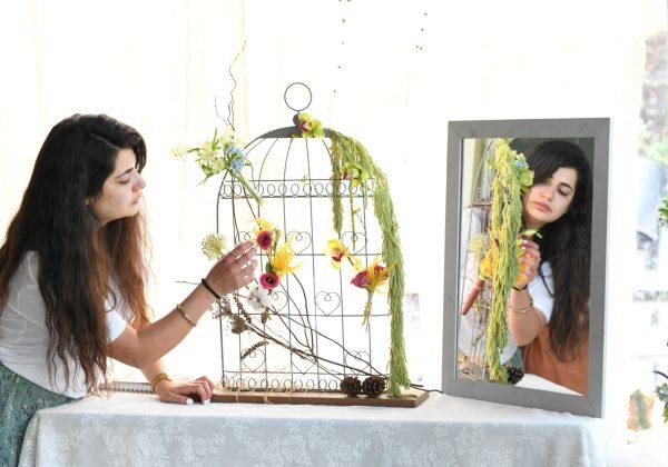 פרויקט סיום קורס שזירת פרחים מתקדמים –  הודיה סממה