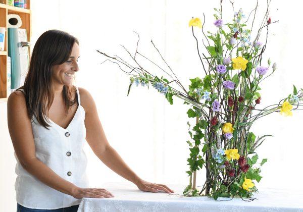 פרויקט סיום קורס שזירת פרחים מתקדמים –  ליזי דוד