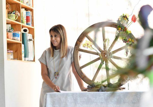 פרויקט סיום קורס שזירת פרחים מתקדמים –  מיכל שקדי
