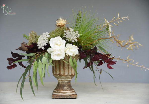 DIY כיצד לשזור עיצוב פרחים צמחי מפרי גינתנו