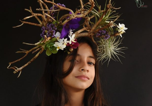 סיפורי פרחים – כשהרגשות והאספנות שלי נפגשים נוצר תכשיט בוטני בוטני פראי ומלא ברגש