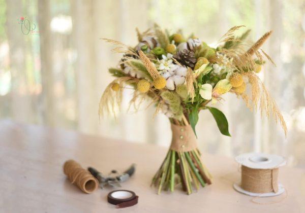 DIY כיצד לשזור זר פרחים לחג השבועות
