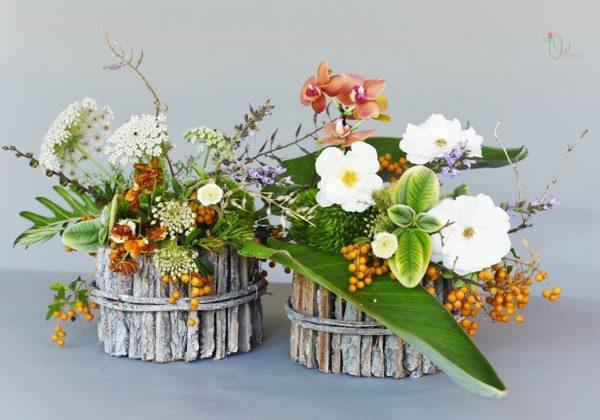 השראות בכל פינה – שזירת עיצוב פרחים מן הטבע