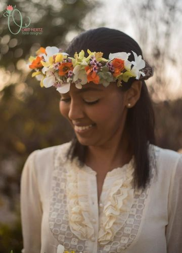 Arbor Day Floral Design Photo Shoot With Lovely Malca